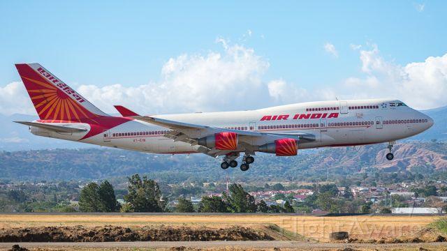 Boeing 747-200 (VT-EVA) - Boeing 747-400