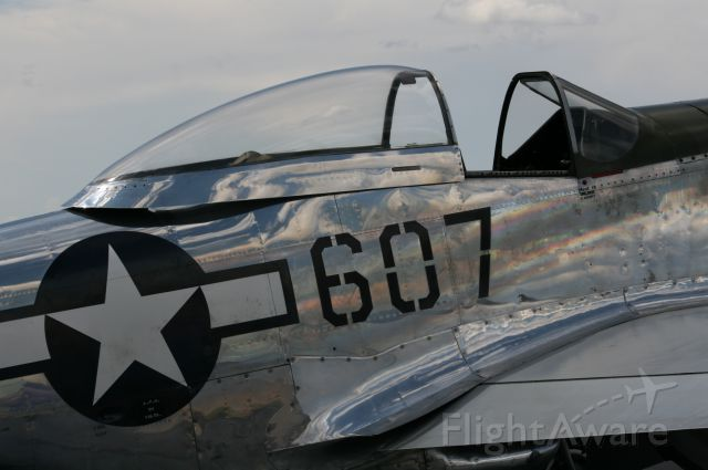 North American P-51 Mustang (N5441V) - Thunder of the Coconino VIII, Valle, AZ, 25 Aug 12