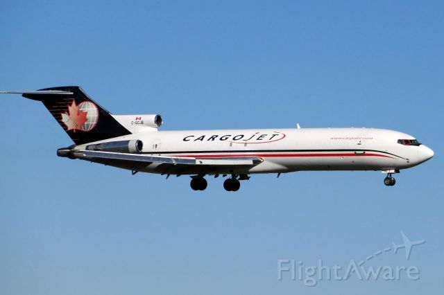 BOEING 727-200 (C-GCJB) - This is the higher pixel version of my another picture of this airplane.