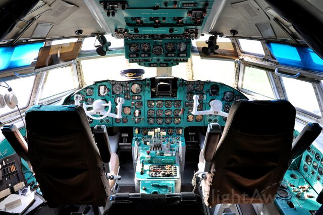 Ilyushin Il-62 (DDRSEG) - IL-62, Interflug, Stolln - Rhinow (EDOR)