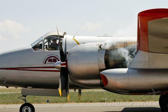 N443NA — - After reloading with retardant, engine start