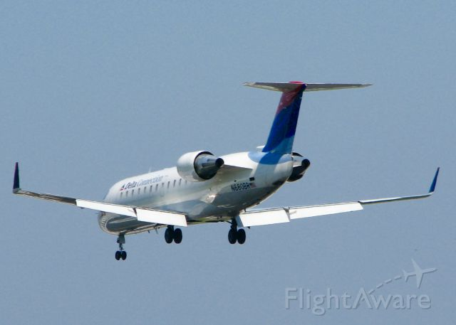 Canadair Challenger (N680BR) - At Shreveport Regional.