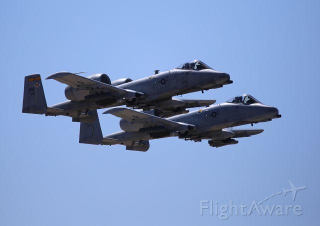 Fairchild-Republic Thunderbolt 2 (81-0969) - Thunder & Lightning Over Arizona at Davis Monthan AFB, 12 Mar 16.