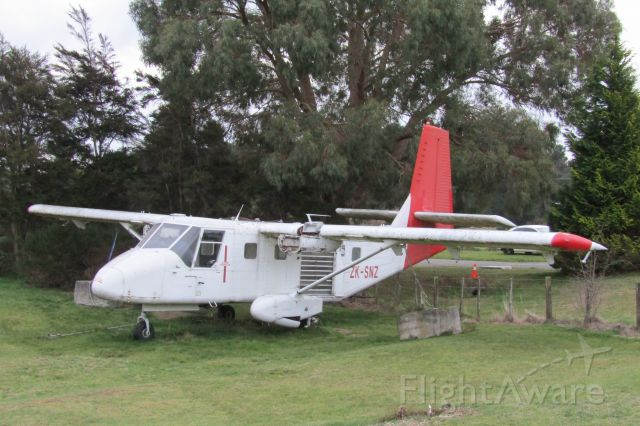 GAF Searchmaster (ZK-SNZ) - A derelict skydiving nomad.