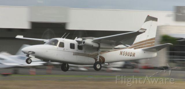 Aero Commander 500 (N590DR)