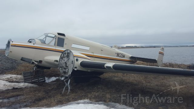 Beechcraft 18 (N135W) - Apparently this is a ghost ship. It