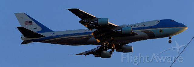 Boeing 747-200 (N28000) - phoenix sky harbor international airport 19FEB20