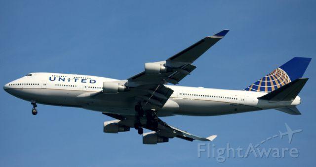"Boeing 747-200 (N120UA) - On Final 28L, 02-16-2015.  <a rel=""nofollow"" href=""http://flightaware.com/live/flight/N120UA/history/20150216/0910Z/RKSI/KSFO"">http://flightaware.com/live/flight/N120UA/history/20150216/0910Z/RKSI/KSFO</a>"
