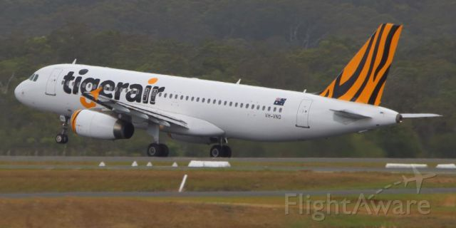 Airbus A320 (VH-VND) - 18 November 2014br /Flight TGW607 departing for Sydney