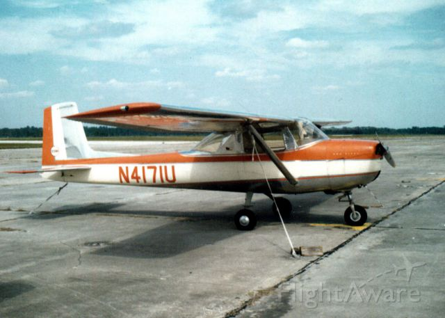 Cessna Commuter (N4171U) - Soloed at 7 hours in 1964