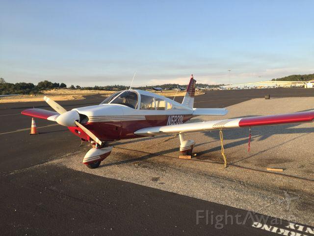 Piper Cherokee (N5233L) - Took this Cherokee on my dual cross country!