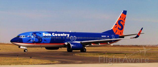 Boeing 737-700 (N809SY) - Charter to Bullhead, AZ
