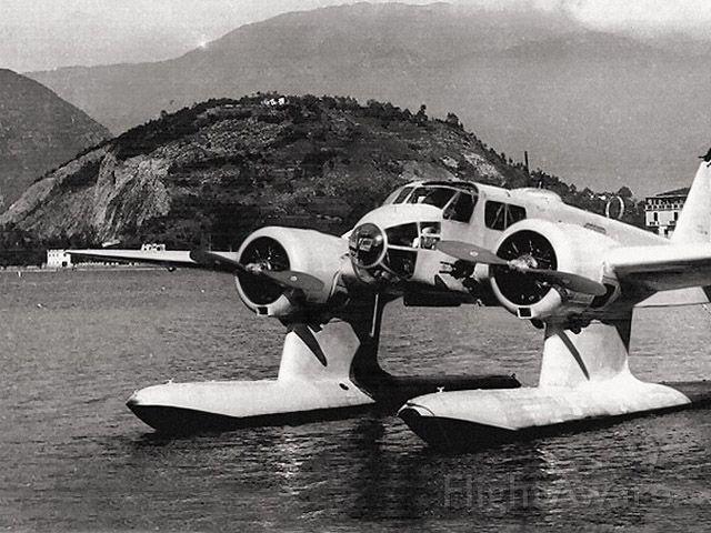 — — - Mystery airplane #5. Answer: Caproni Ca.316