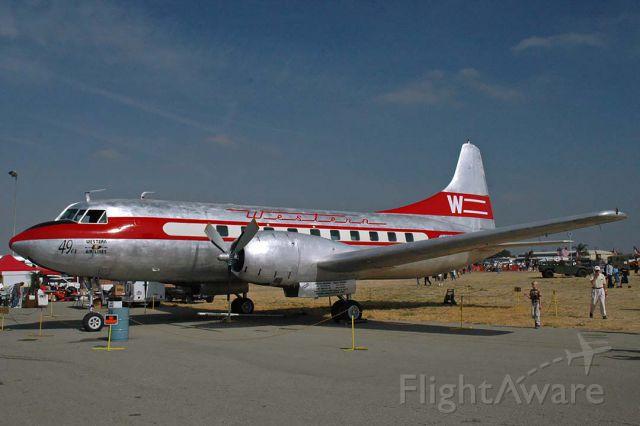 CONVAIR CV-340 Convairliner (N240HH) - Western Convair 240 N240HH The 49