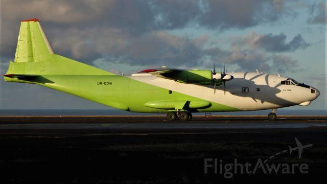 Antonov An-12 (UR-KDM) - Aeroporto de Santa Maria - LPAZ - Azores 08/11/2020