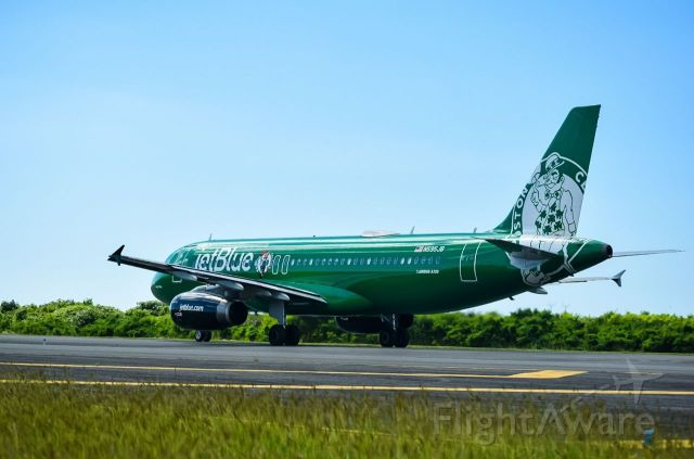 Airbus A320 (N595JB)