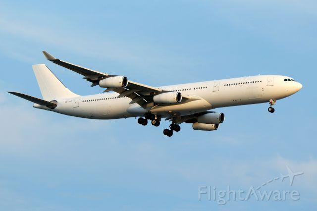 Airbus A340-300 (CS-TQZ) - Hi Fly, operating as Azores 201 arriving from Ponta Delgada