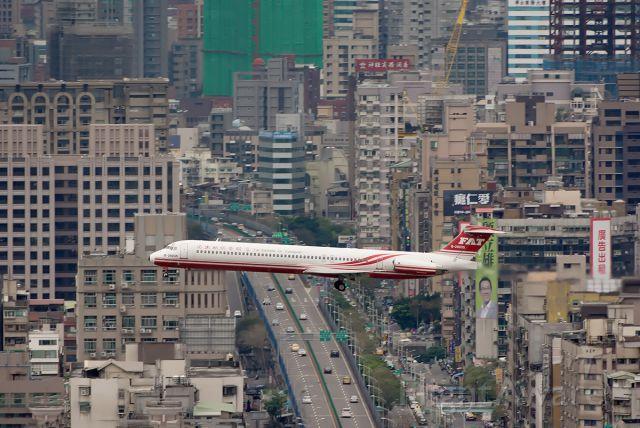 McDonnell Douglas MD-80 (B-28035) - Not 80's Kai Tak!