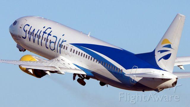 BOEING 737-400 (N440US) - 4 departure.