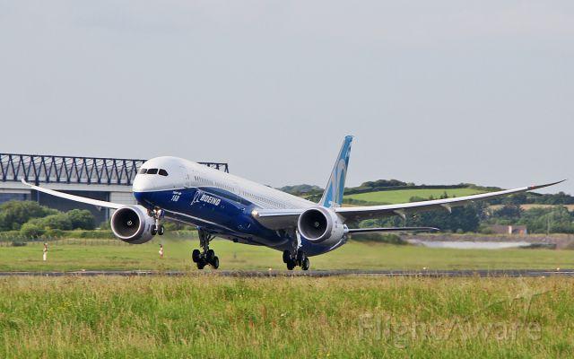 """Boeing 787-9 Dreamliner (N528ZC) - """"boe 001"""" b787-10 n528zc dep shannon for boeing field seattle 20/6/17."""