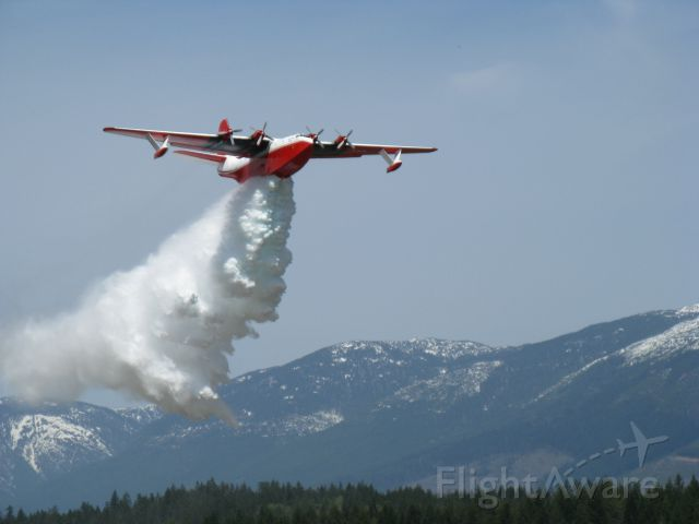 C-FLYL — - Taken May 16, 2008. Martin Mars water bomber Certification to fight fire in USA.br /Picture taken from my roof top at airport.