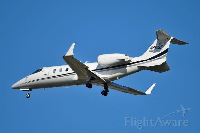 Learjet 55 (N60GF)
