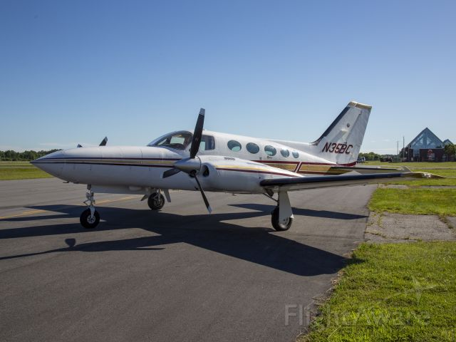 Cessna 421 (N35BC) - The best piston engine twin. Geared engines. Very quiet cabin. 21 JUN 2019.