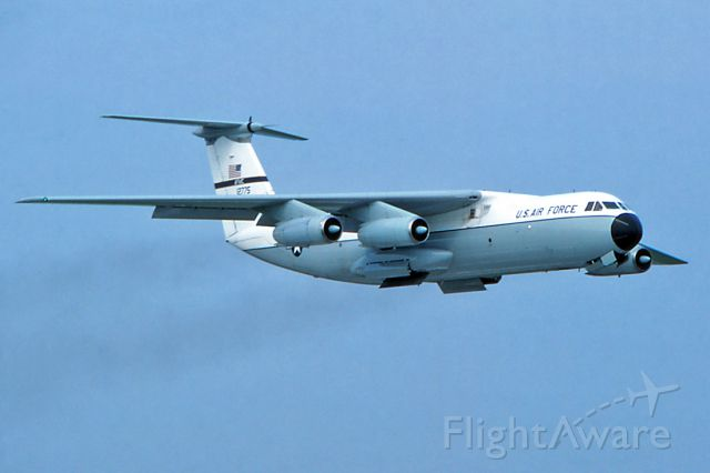 Lockheed C-141 Starlifter (61-2775) - August 1996 - departing after the airshow.