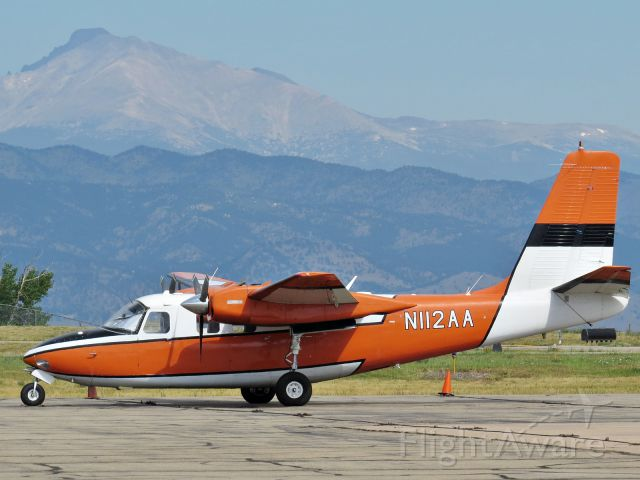 Aero Commander 500 (N112AA)