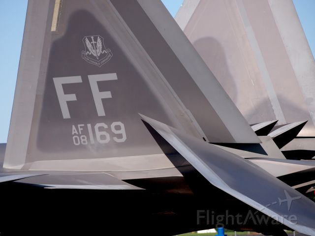 Lockheed F-22 Raptor (AFR8169)