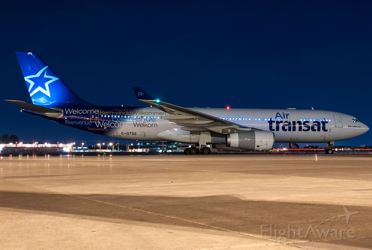 Airbus A330-300 (C-GTSZ)