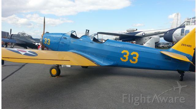 N52164 — - 1943 Fairchild PT-19A at Hagerstown Air Show Sep 22, 2013