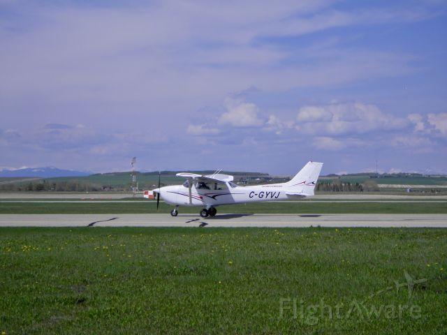 Cessna Skyhawk (C-GYVJ) - CGYVJ Cessna Skyhawk.