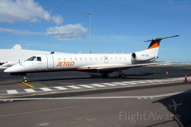 Embraer ERJ-135 (VH-JZG) - Jetgo's newest E135 VH-JZG on the tarmac at Townsville