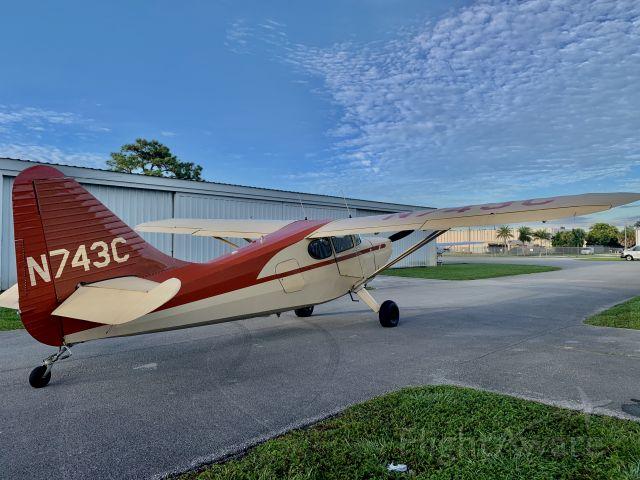 Piper 108 Voyager (N743C) - Stinson 108-3