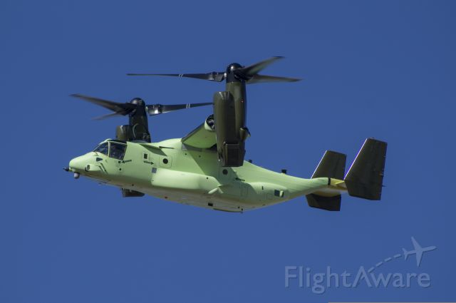Bell V-22 Osprey (16-8302) - HMX-1 V-22 Osprey during flight testing and prior to final paint job in Amarillo, Texas.