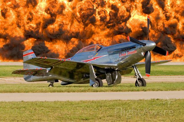 North American P-51 Mustang (N55JL)