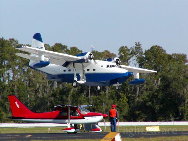 N7027Z — - Grumman HU-16 manufactured in 1952 landing at Lakeland