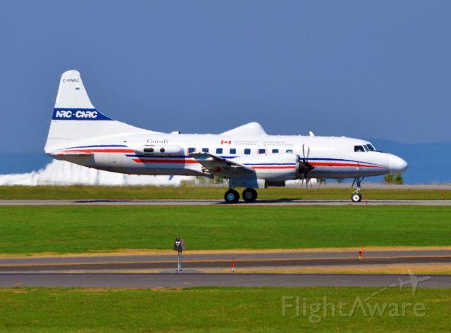 C-FNRC — - Taxing back to the NRC hangar.
