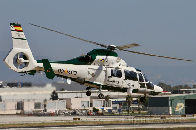 09403 — - Eurocopter AS-365N3 Dauphin - Spain Guardia Civil