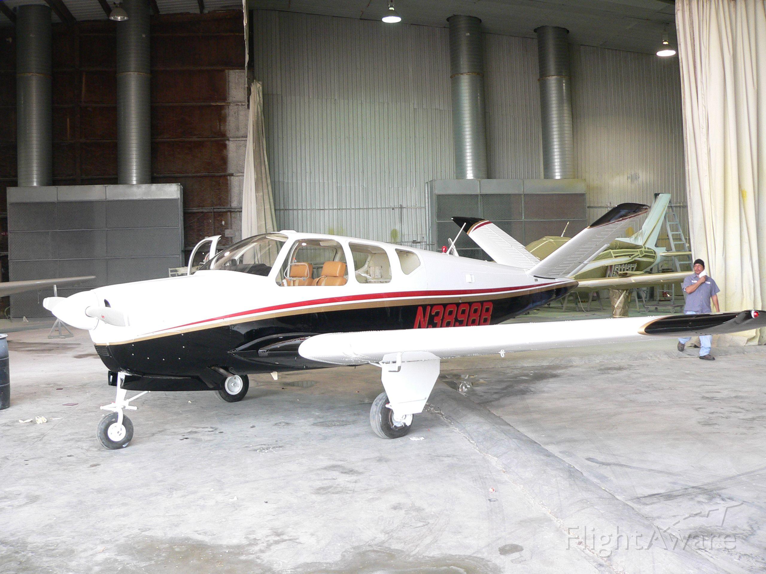 Beechcraft 35 Bonanza (N3898B) - New Paint