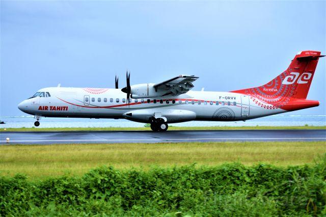 Aerospatiale ATR-72-600 (F-ORVV)