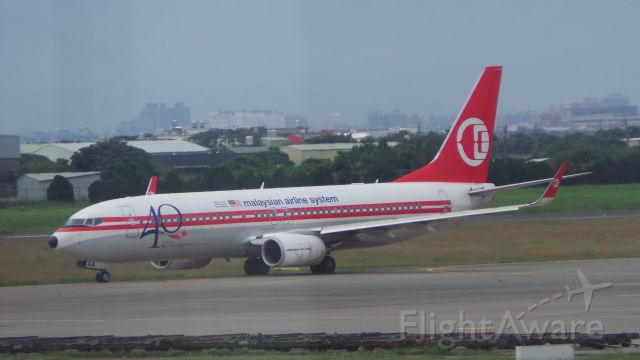 Boeing 737-700 (9M-MXA) - 2015/05/28 TPE MH69(TPE-BKI) B737-800 9M-MXA