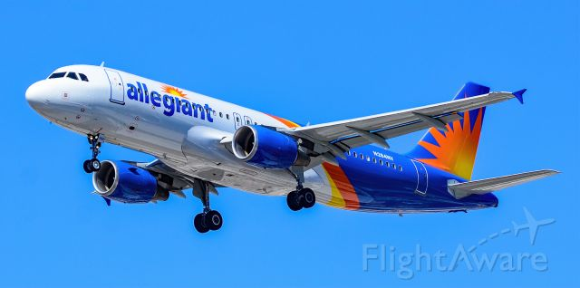 Airbus A320 (N284NV) - N284NV Allegiant Air Airbus A320-214 s/n 5045 - Las Vegas - McCarran International Airport (LAS / KLAS)br /USA - Nevada April 30, 2021br /Photo: Tomás Del Coro