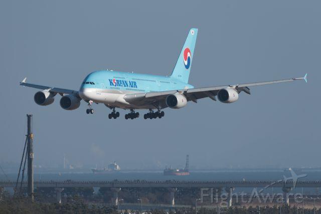 Airbus A380-800 (HL7614) - 20150117 15:42
