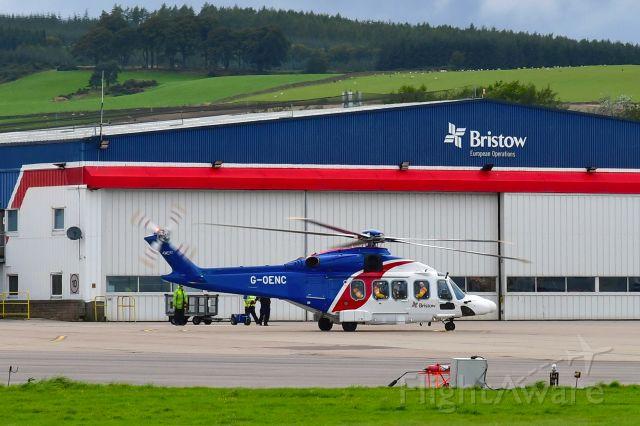 AgustaWestland AW189 (G-OENC) - Bristow Agusta-Westland AW189 G-OENC in Aberdeen