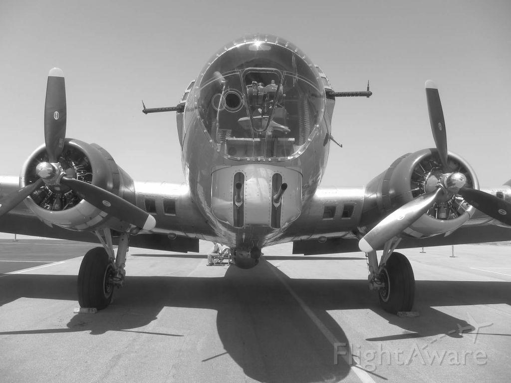 Boeing B-17 Flying Fortress (N5017N) - Aluminum Overcast at KTOA