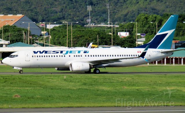 Boeing 737-800 (C-GJWS)