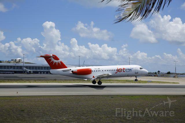 PJ-JAC — - JetAir PJ-JAC landing at TNCM