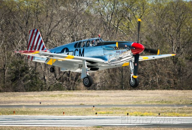 North American P-51 Mustang (NL251MX) - Beautiful Betty Jane landed right in front of me... What can I say? Incredible...